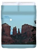 Cathedral Rock Moon 081913 G Duvet Cover