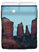 Cathedral Rock Moon 081913 H Duvet Cover