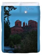 Cathedral Rock Rrc 081913 Ad Duvet Cover
