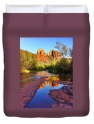 Cathedral Rock Sedona Duvet Cover by Matt Suess