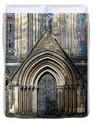 Cathedral Side Door Duvet Cover