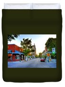 Cathedral Square Gallery On Dauphin Street Mobile Duvet Cover