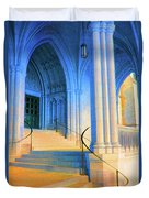 Cathedral Steps Duvet Cover