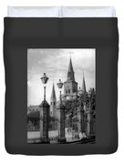 Cathedral Through Gateway Duvet Cover