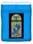 Cathedral Window Duvet Cover
