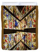 Cathedral Window Montage Duvet Cover