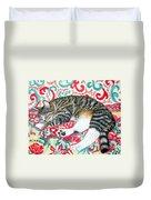 Catnap Time Duvet Cover