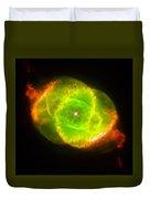 Cat's Eye Nebula Duvet Cover