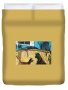 Cats Hangin' Out  Duvet Cover