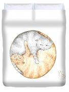 Cat's Harmony Duvet Cover