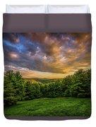 Catskill Sunset Duvet Cover