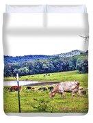 Cattle Farm Duvet Cover