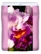 Cattleya IIi Duvet Cover by Christopher Holmes