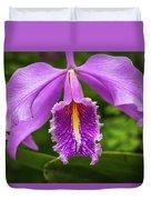 Cattleya Purpurata Duvet Cover