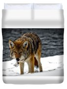 Caught In The Act Duvet Cover