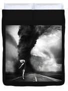 Caught In The Storm Duvet Cover