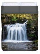 Cauldron Falls,west Burton, North Yorkshire. Duvet Cover