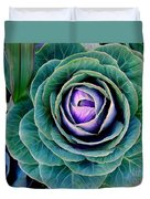 Cauliflower Abstract #6 Duvet Cover
