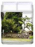 Causland Memorial Park In Anacortes Duvet Cover