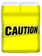 Caution Tape Duvet Cover
