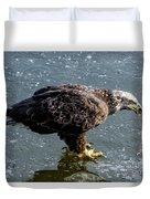 Cautious Eagle Duvet Cover