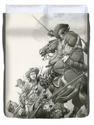 Cavalry Charge Duvet Cover