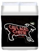 Cave Aged Cheese Duvet Cover