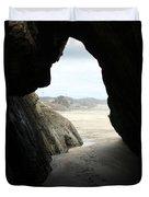 Cave Dweller Duvet Cover