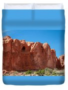 Cave Formation Arches National Park Duvet Cover