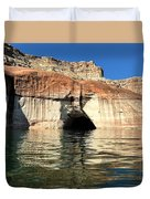 Cave Opening At Lake Powell Duvet Cover