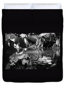 Cave Reflection 2 Duvet Cover