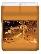 Cave Reflections Duvet Cover