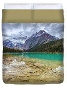 Cavell Lake Jasper Duvet Cover