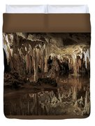 Cavern Reflections Duvet Cover