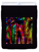 Caverns Of The Mind Duvet Cover