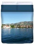 Cavtat, Croatia Duvet Cover