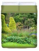 Cawdor Castle Garden Duvet Cover