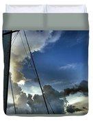 Cayman Nite Sky Duvet Cover