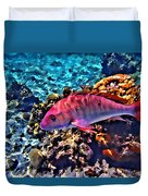 Cayman Snapper Duvet Cover