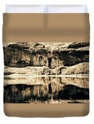 Columbia Basin Abstract Duvet Cover