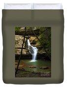 Cedar Falls - Hocking Hills Ohio Waterfall Duvet Cover