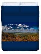 Cedar Lake Vista Duvet Cover