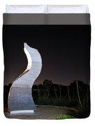 Cedar Park Sculpture Flame Duvet Cover