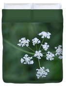 Cedar Park Texas Hedge Parsley Duvet Cover
