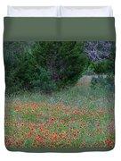 Cedar Park Texas Indian Blanket Carpet Duvet Cover