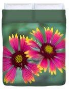 Cedar Park Texas Indian Blanket Duvet Cover