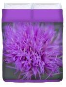 Cedar Park Texas Purple Thistle Duvet Cover