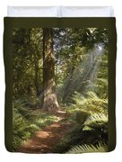 Cedar Path Duvet Cover