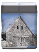 Cedar Shake Barn Duvet Cover
