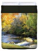 Cedarburg's Cedar Creek  Duvet Cover